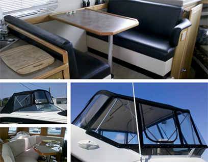Boat Canvas and Upholstery San Diego | San Diego Boat Service